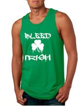 Men's Tank Top Bleed Irish St Patrick's Party Top Love Irish - $14.94+