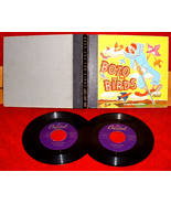 Bozo & the Birds Capitol Record Reader 45s Story Book Illustrated - $25.00