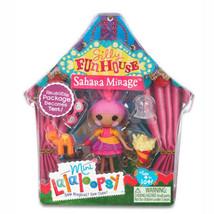 Mini Lalaloopsy Sahara Mirage Silly Fun House #1 Of Series 10 (Nip) - $8.19