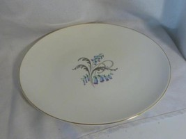 "vintage KNOWLES China BLUEBELLS floral pattern oval 12"" SERVING PLATE pl... - $15.99"