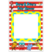 Dr. Seuss Cat in the Hat Selfie Frame Photo Booth Prop Poster - $16.34+