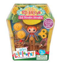 Lalaloopsy Mini Ace Fender Bender Silly Funhouse #2 of Series 10 NIP - $8.19