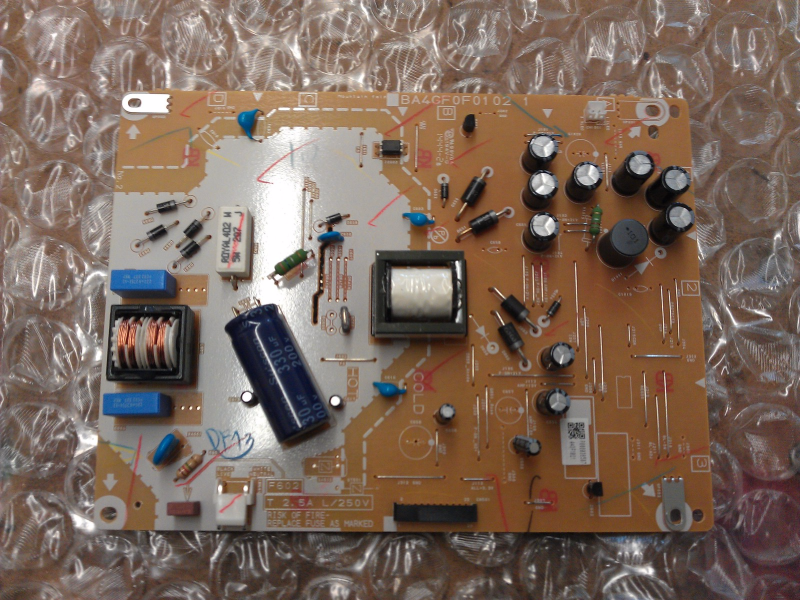 A4DFAMPW-001 A4DF2021 Power Supply Board From Philips 32PFL4909/F7 ME1 LCD TV
