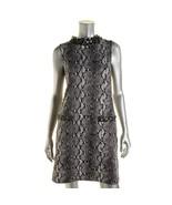 MICHAEL Michael Kors New Black/White Snake Print Wear To Work Dress   XL... - $177.21