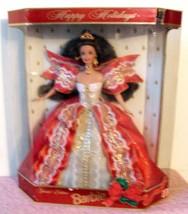 Barbie Christmas NIB Hallmark Mattel Special Edition 1997 Holiday Brunet... - $19.27