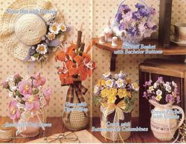 Wildflower Crochet Pattern~Annie's~Dated 1986~RARE~HTF - $24.99