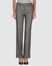 Beautiful $220 silk/wool Herringbone pants by Metradamo Italy. M. - $19.79