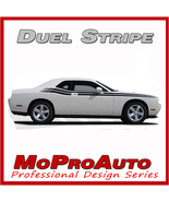 2009 CHALLENGER DUEL Side Stripes - Pro Grade 3M Vinyl Graphic Decals * ... - $102.89