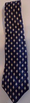 Polo by Ralph Lauren Silk Neck Tie Blue & Ivory  Made In USA NEW Short 5... - $18.80