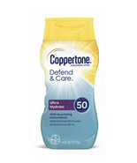 Coppertone Defend and Care Ultra Hydrate Sunscreen Lotion, SPF 50, 6 Oz - $8.85