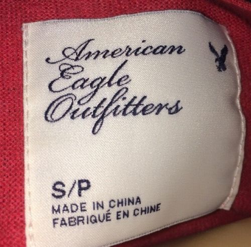American Eagle Outfitters Size Small Button Up Bin #21
