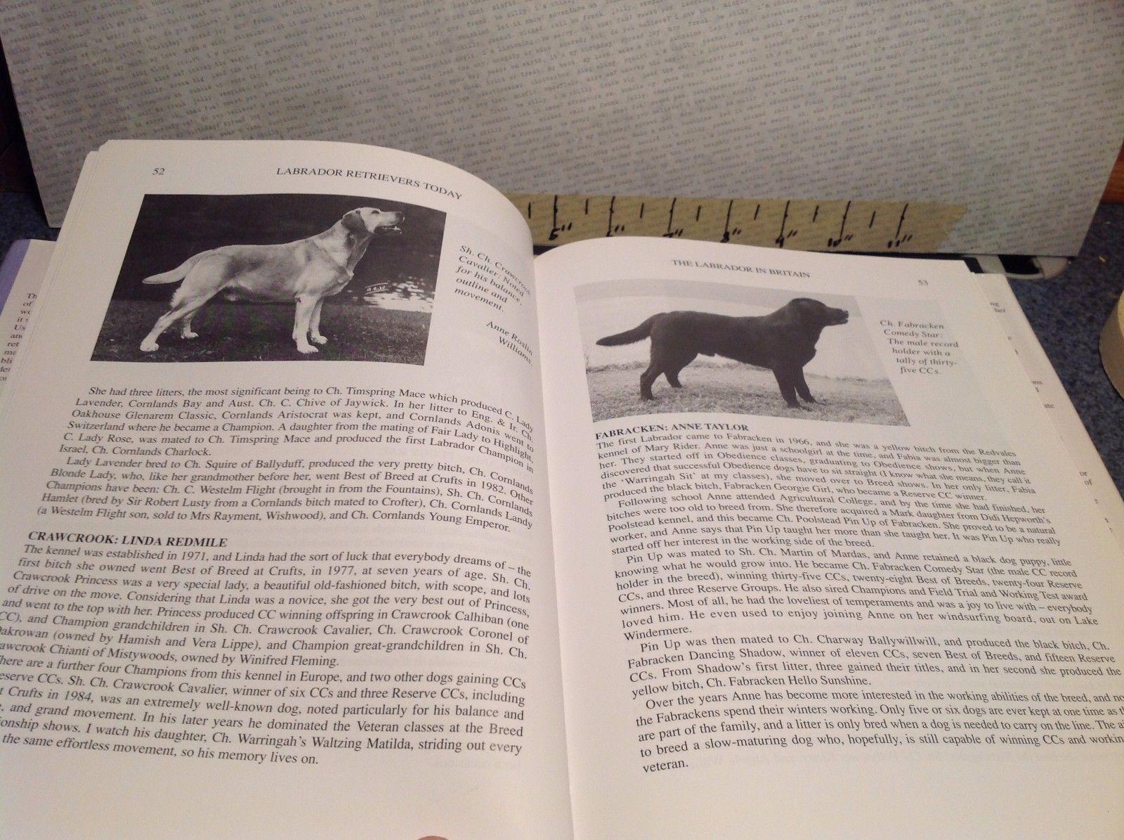 Labrador Retrievers Today Book by Carol Coode