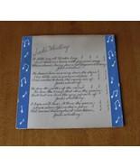 "Antique Print to Frame-Poem ""Jack's Whistling"" Over 80 Yrs. Old-Size 10""... - $4.99"