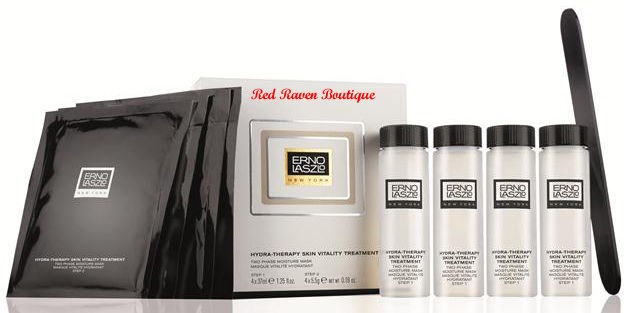 Erno Laszlo Hydra Therapy Skin Vitality Treatment 4 Moisture Masks SEALED BOX