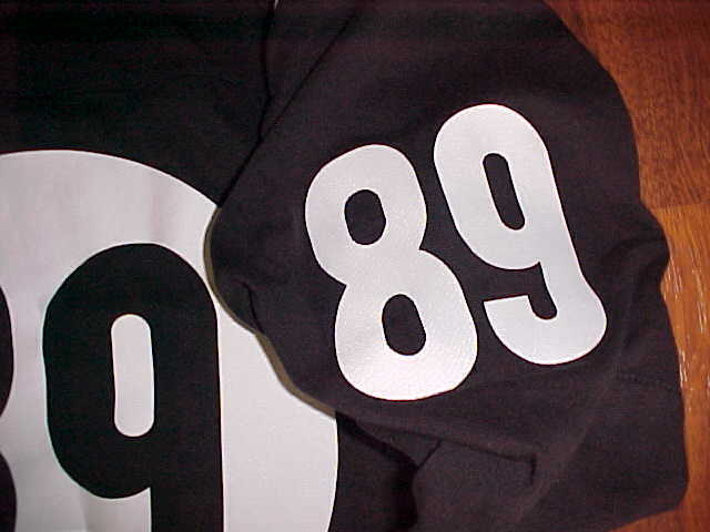 Hall of Fame Limited Officially Licensed Product No. 89 Men Black Jersey XL