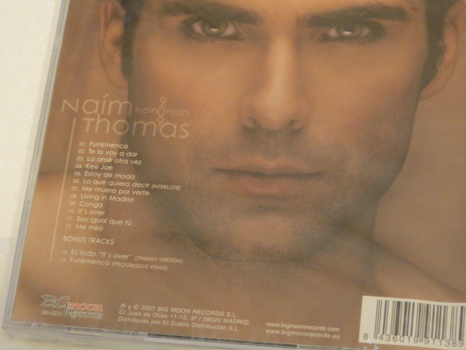 Naim Thomas NAIN o NAIN Nainonain SUPER RARE CD 909 funkmenco kee joe congo over