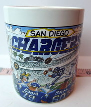 San Diego Chargers Crunch the Chiefs Mug NFL Licensed Mug Collectible RE... - $54.45