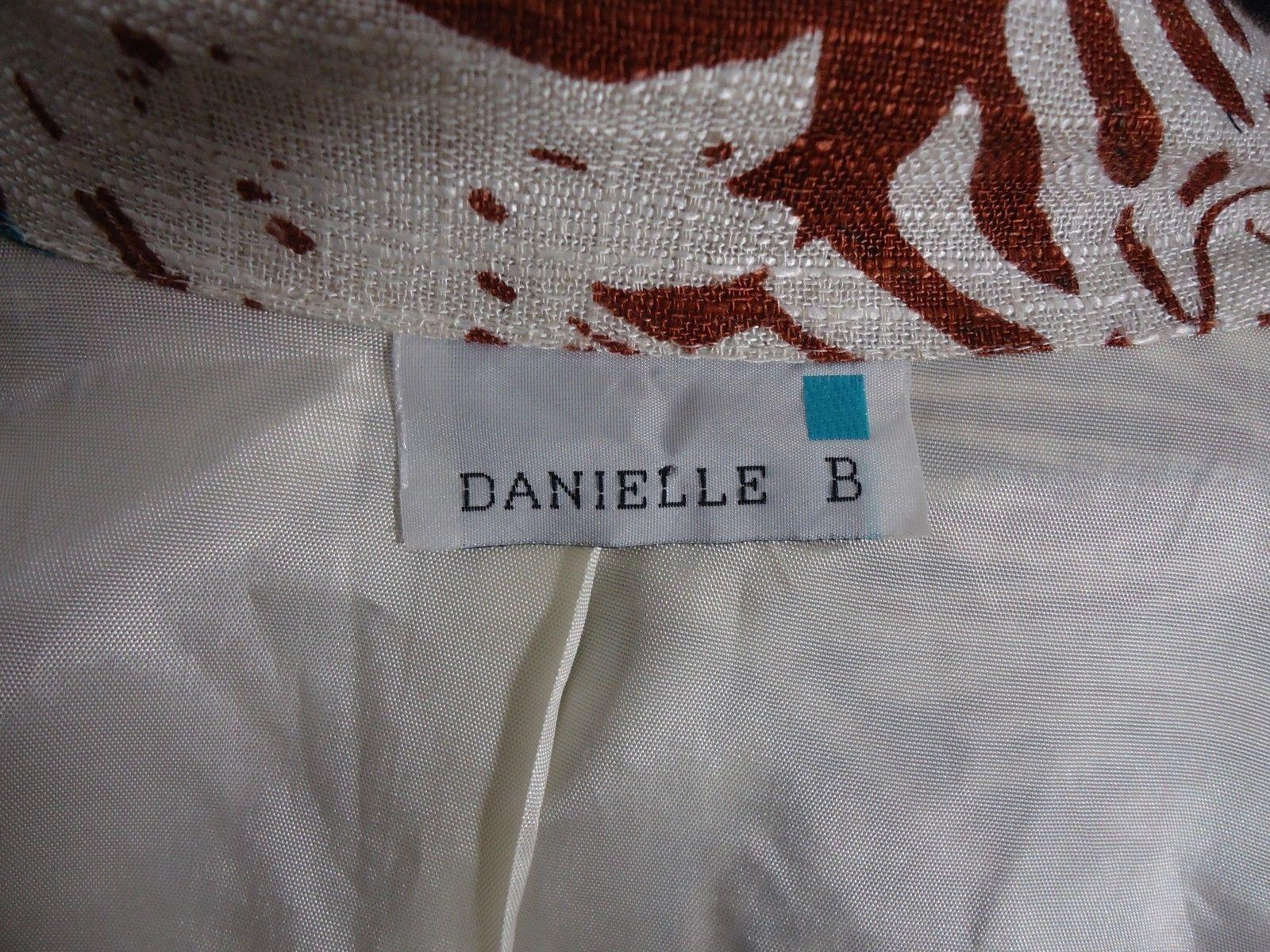 Danielle B Jacket Blazer Foliage, Leaves, Leaf, Floral, Work, Office, Casual
