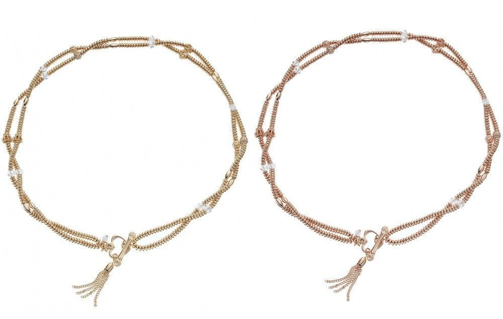 JUICY COUTURE gold rose gold tone Double and similar items