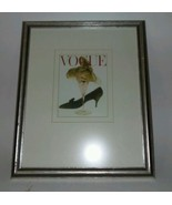 "Vintage Vogue Martini Glass Cover on 12 1/2"" X 16"" Retro Frame - $48.99"
