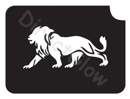 Lion 1008 Body Art Glitter Tattoo Makeup Stencil- 5 Pack - $5.95