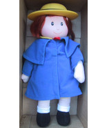 1998 Kid's Gifts Doll Dressed Blue Coat and Hat - $12.99
