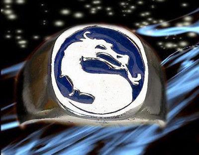 Sub-Zero Ver. Mortal Kombat Ring Dragon Sterling silver .925 X