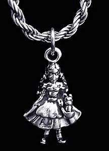 3D DOROTHY TOTO Wizard of Oz Sterling Silver 925 movie story charm Jewelry
