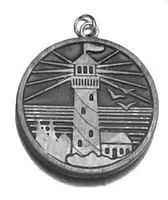 Send Forth Your Light House and truth silver .925 charm