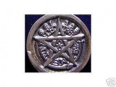 Sterling Silver .925 Celtic Ankh Egypt pentagram charm Jewelry pendant Egyptian