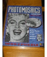 Photomosaics Marilyn Monroe Jigsaw Puzzle New & Sealed Robert Silvers 10... - $39.99