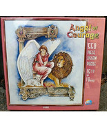 Angel of Courage w Lion Puzzle Sunsout 1994 New 550 Pieces - $10.00
