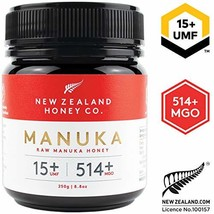 Zealand Honey Co. Raw Manuka Honey UMF 15+ | MGO 514+, 8.8oz / 250g - $46.18