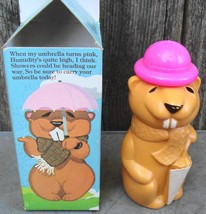 Avon Willie Weatherman Beaver Shampoo NIB - $10.00