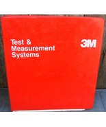 3M Test & Measurement Systems Customer Training Seminar Binder - $12.99