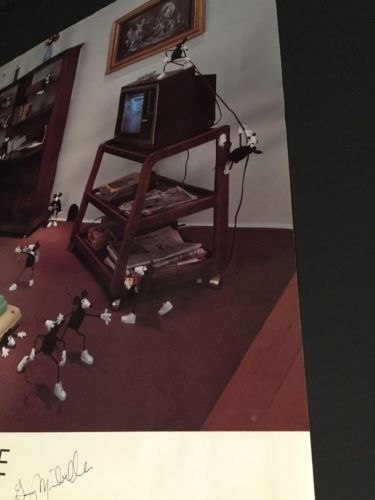 Gary Mirabelle / SIGNED Poster /Attack Of The 50 Foot Woman /Listed Photographer