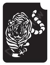 Tiger 1003 Body Art Glitter Tattoo Makeup Stencil- 5 Pack - $5.95