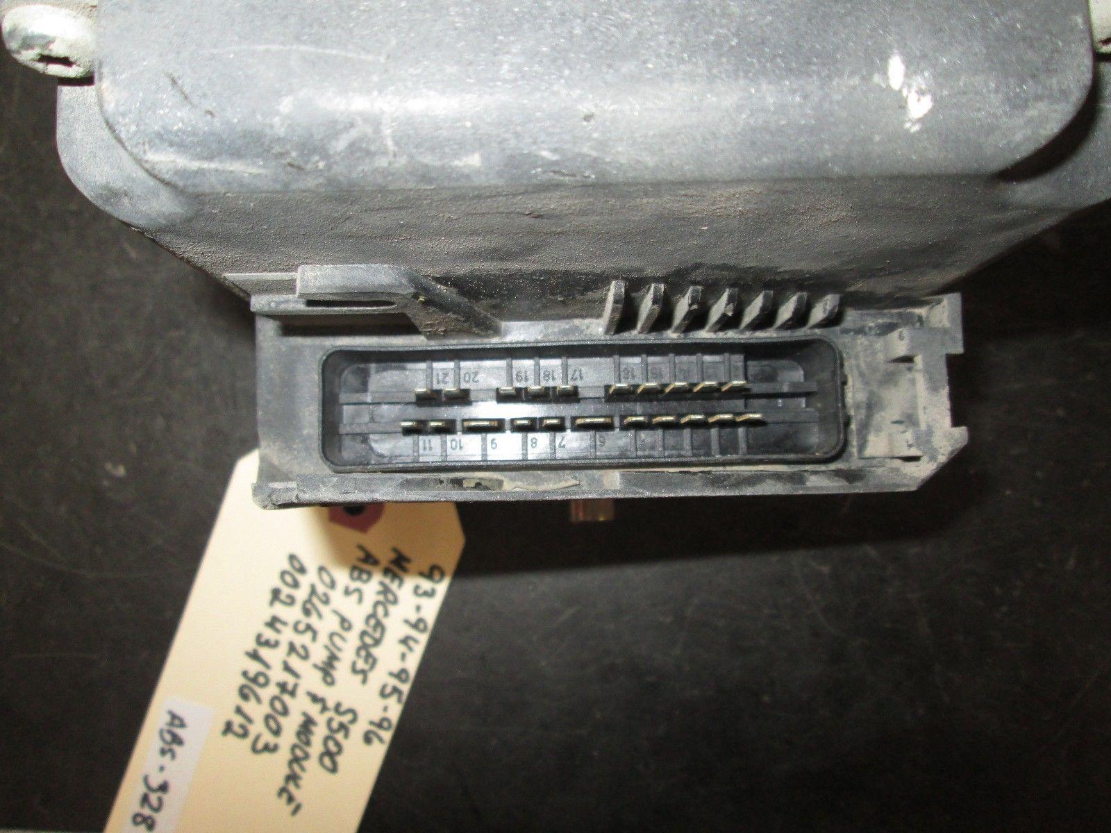 93 94 95 96 MERCEDES S500 ABS PUMP & MODULE #0265217003,0024319612