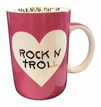 "Betsey Johnson xox Trolls Pink Large Mug 20 oz ""Rock N Troll"" Trolls - $24.90"