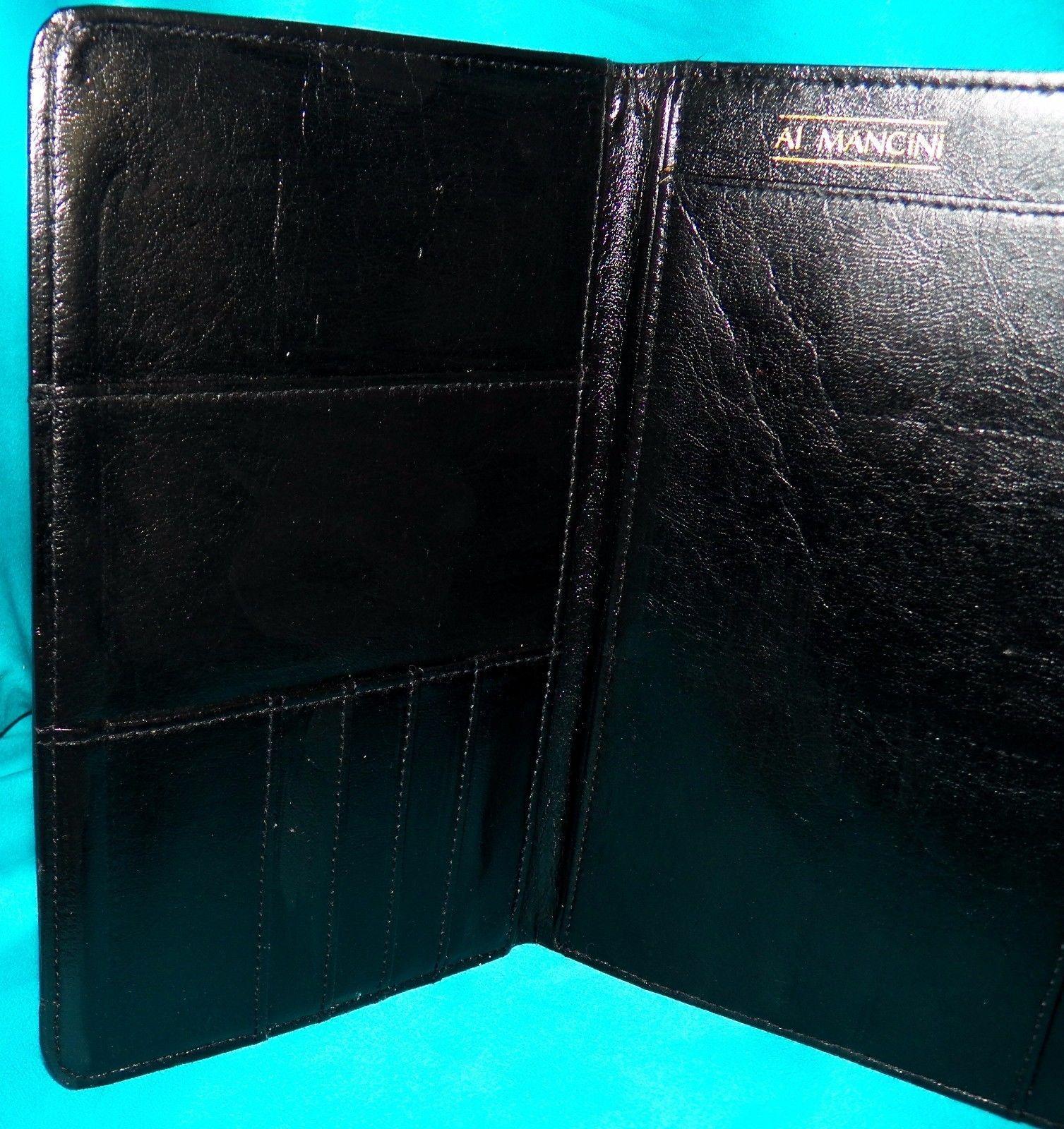 Vintage Levi Strauss Jeans 6x9 Gray Travel Portfolio Padfolio Passport Organizer