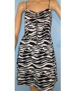 H&M Divided Zebra Print Sundress Minidress SZ 6 NWT - $12.86