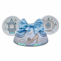 disney parks character ears princess cinderella ear hat adult size new w... - $25.60