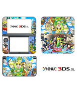 Skin Decal Sticker for New Nintendo 3DS XL 2015 Legend of Zelda Anime Vi... - $9.00