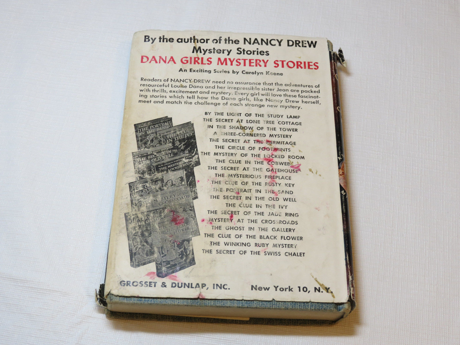 Nancy Drew The Sign of the Twisted Candles Carolyn Keene 1933 hardback #%