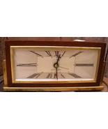 Deco Seth Thomas Wooden Baxter 2E Mantel Clock - $16.00