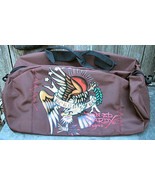Don Ed Hardy Born Free Design Duffle Luggage Bag - $15.00