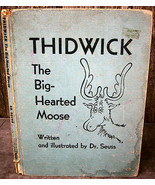 Dr Seuss Thidwick the Big Hearted Moose 1st/ later 1948 Illustrated Fantasy - $24.00
