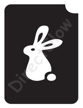 Rabbit 1001 Body Art Glitter Tattoo Makeup Stencil- 5 Pack - $5.95