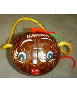 Hawaiian Coconut Funny Face Purse or Gift Box Souvenir of Hawaii - $12.95