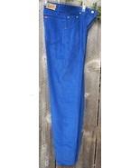 Lee Royal Blue Corduroy Straight Leg Jeans Pants Size 9 Juniors - $18.00